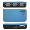 USB 2.0 High Speed Desktop Hub, 4 Port, Self Powered, Multi TT thumbnail