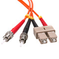 Fiber Optic Cable, SC / ST, Multimode, Duplex, 50/125, 30 meter thumbnail