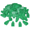 RJ45 Strain Relief Boots, Green, 50 Pieces Per Bag thumbnail
