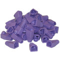 RJ45 Strain Relief Boots, Purple, 50 Pieces Per Bag thumbnail