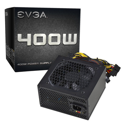EVGA 100-N1-0400-L1 400W Power Supply - 400 W - Part Number: 100-N1-0400-L1