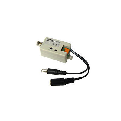 HD Active Video Balun - Male BNC to bare wire - Camera Side - Part Number: 10B1-31100