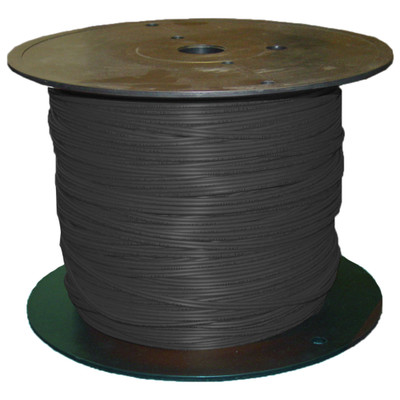 Indoor/Outdoor Fiber Optic Cable, Singlemode 50/125, 12 Strand, Riser rated, Spool, 500 foot - Part Number: 10F1-012NF