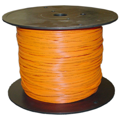 Duplex Fiber Optic Cable with Zipcord, Multimode 62.5/125, Riser rated, Spool, 500 foot - Part Number: 10F1-111NF