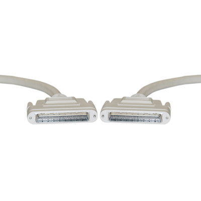 SCSI III cable, HPDB68 (Half Pitch DB68) Male, 34 Twisted Pairs, Screw, 3 foot - Part Number: 10P2-24103