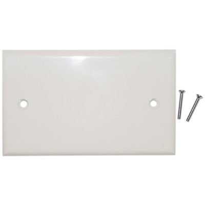 Wall Plate, Beige/Ivory, Blank Cover Plate - Part Number: 200-258IV