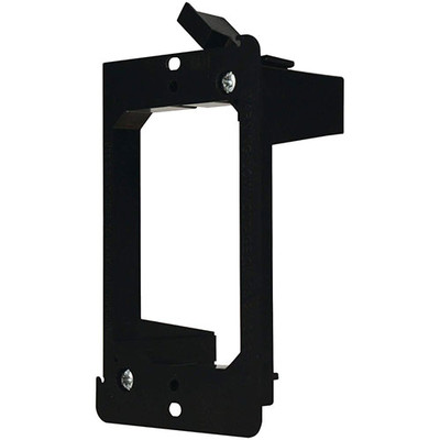 Wall Plate Mounting Bracket, Low Voltage, Single Gang - Part Number: 3031-11110