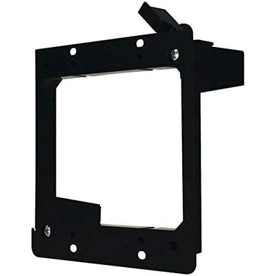Wall Plate Mounting Bracket, Low Voltage, Dual Gang - Part Number: 3031-11210