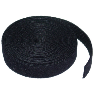 Hook and Loop Cable Tie Roll, 3/4 inch x 5 yards - Part Number: 30CT-07115