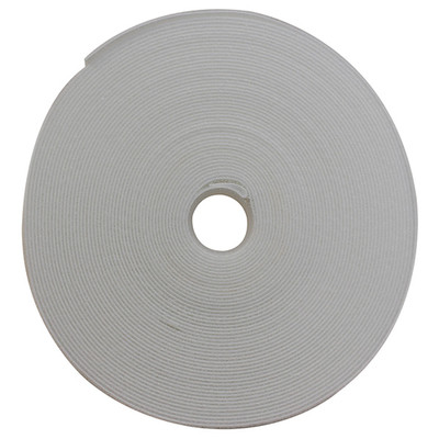 Hook and Loop Tape, 3/4 inch Wide, White, 50ft Roll - Part Number: 30CT-09150