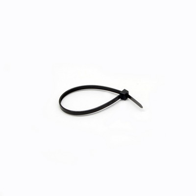Nylon Cable Tie, Black, 18-pound weight limit, 100 Pieces, 6 inch - Part Number: 30CV-00140BK