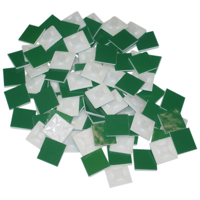 Adhesive Surface Mount, 100 Pieces, 7/8 inch Square - Part Number: 30CV-14100