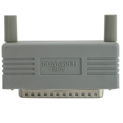 Passive SCSI Terminator, DB50 Male - Part Number: 30D5-02500