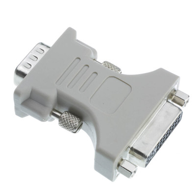 DVI-A to VGA Analog Video Adapter, DVI-A Female to HD15 Male - Part Number: 30DV-05300