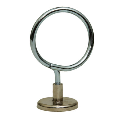 2 inch Magnetic Bridle Ring, 90 lbs pull strength, 1/4-20 threading, 10 pieces/bag - Part Number: 30MA-01303
