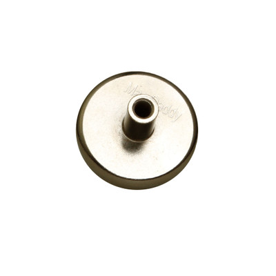 1/4-20 Threaded Female Magnet Mount, UL Listed, 90 lbs pull force, 10 pieces/bag - Part Number: 30MA-01400