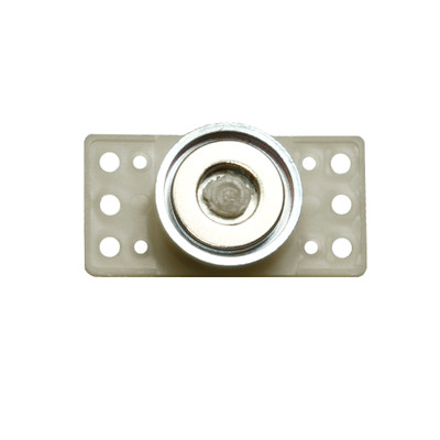 Magnetic Pivoting Polymer Base Plate for universal mounting, 26 lbs of pull force, 10 pieces/bag - Part Number: 30MA-01802