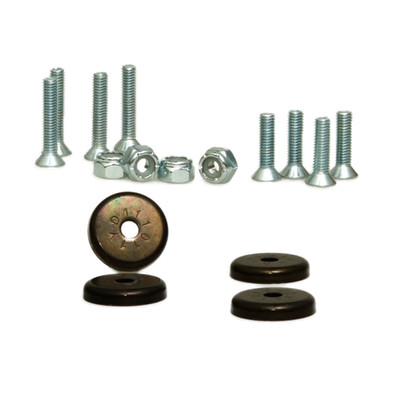 Magnetic Security Camera Mounting Kit, includes four 26 pound magnets and mounting hardware - Part Number: 30MA-02100