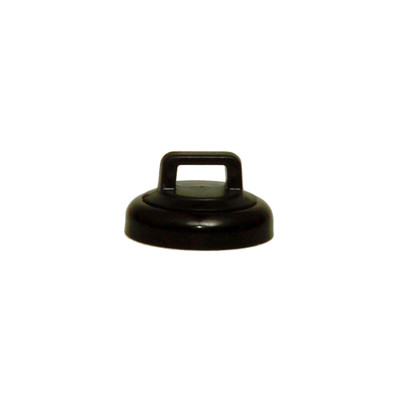 Small Black Magnetic Zip Tie Mount, 10 lbs pull strength, 10 pieces/bag - Part Number: 30MA-22101