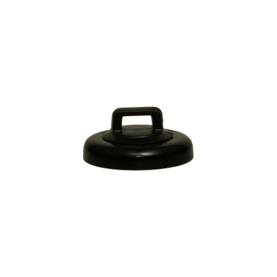 Large Black Magnetic Zip Tie Mount, 15 pound pull force, Plenum Rated, UL Listed, 10 pieces/bag - Part Number: 30MA-22201