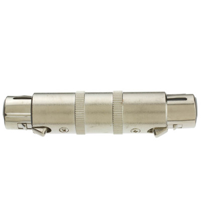 XLR Coupler / Gender Changer, Metal, XLR Female - Part Number: 30MC-03400