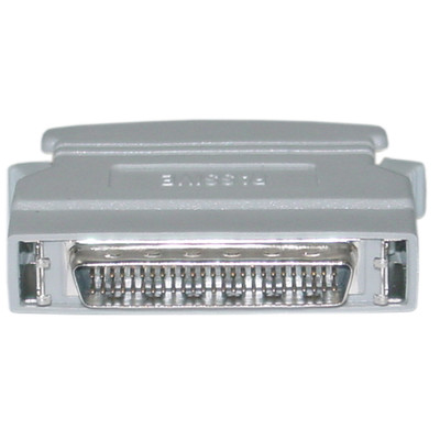 External Passive SCSI Terminator, HPDB50 (Half Pitch DB50) Male, One End - Part Number: 30P1-03500