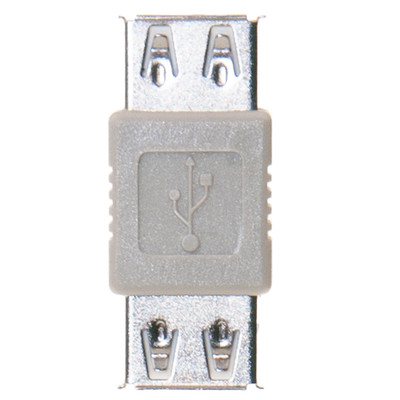 USB Coupler / Gender Changer, Type A Female to Type A Female - Part Number: 30U1-02400