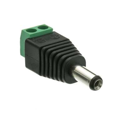DC Male Power Plug to 2 Pin Terminal (Screw Down) Adapter - Part Number: 30W1-00200
