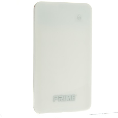 Power bank 3500mAh USB Battery Backup, White - Part Number: 30W1-50090