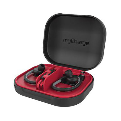 MyCharge Power Gear Tunes Protective Case and Charge case for earbuds - Part Number: 30W1-91000