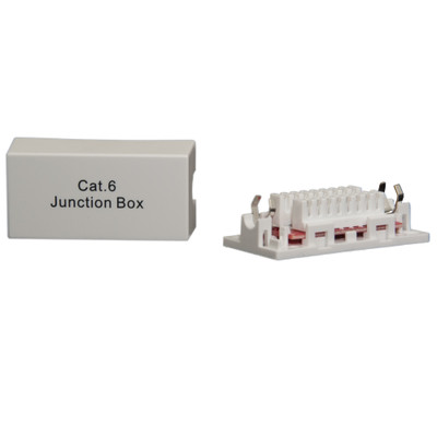 Cat6 Inline Junction Box, 110 Punch Down Type - Part Number: 30X8-11100