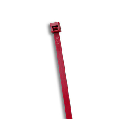 Plenum Burgundy Air Handling Cable Ties, 50 lb, 11 inch, 100pcs/Bag - Part Number: 31CV-07111