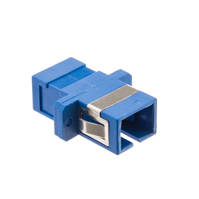 Fiber Optic Coupler, SC/SC Female, Simplex, Plastic Housing - Part Number: 31F1-CC400