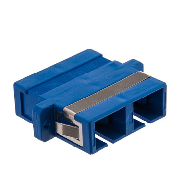 Fiber Optic Coupler, SC/SC Female, Duplex, Plastic Housing - Part Number: 31F1-CC410