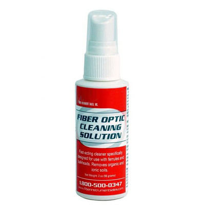 Fiber Optic Cleaning Solution, Pump Bottle, 2 ounce - Part Number: 31F3-00102