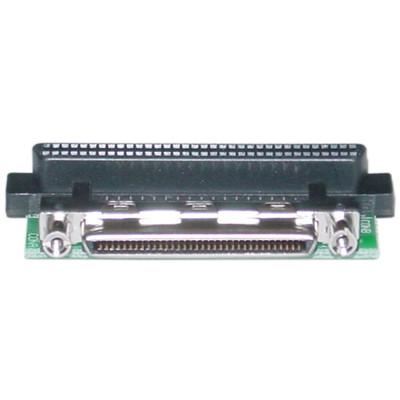 Internal SCSI Adapter, VHDCI 68 Female to HPDB68 (Half Pitch DB68) Female - Part Number: 31N3-08400