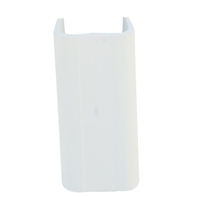1.25 inch Surface Mount Cable Raceway, White, Joint Cover - Part Number: 31R2-002WH
