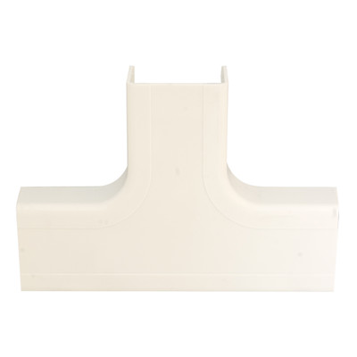 3/4 inch Surface Mount Cable Raceway, Ivory, Tee - Part Number: 31R1-006IV
