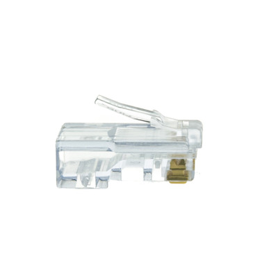 Platinum Tools EZ-RJ45 Cat5e Crimp Plugs, Slide Through Wires, 100 Pieces - Part Number: 202003J
