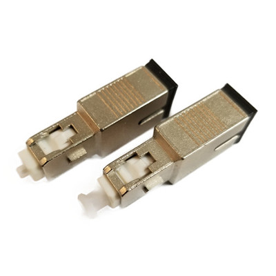 Inline Fixed Optical Attenuator, SC/UPC, Single Mode, Male to Female, 10 dB - Part Number: 32F1-00010