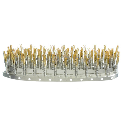 Serial Female Crimp Contacts, 100 Pieces - Part Number: 3300-004HD