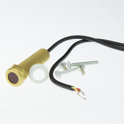 CFL-Proof, Plasma-Friendly Peep Hole IR Receiver 6ft cable - Part Number: 332-610