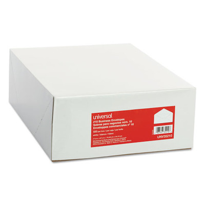 Universal Business Envelope, #10, 4 1/8 x 9 1/2, White, 500/Box - UNV35210 - Part Number: 3401-10101