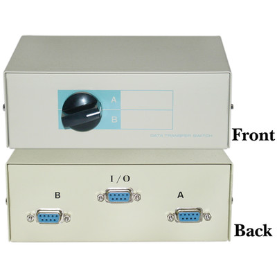 AB 2 Way Switch Box, DB9 Female - Part Number: 40D1-10602
