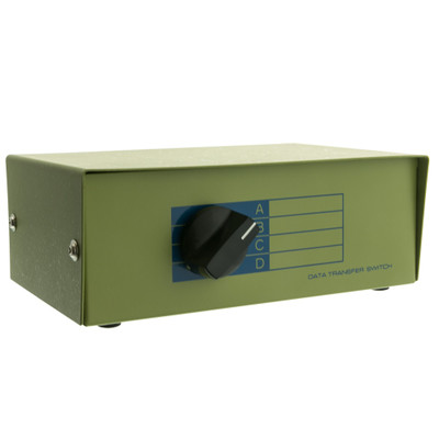 ABCD 4 Way Switch Box, RJ12 Female - Part Number: 40R1-01604