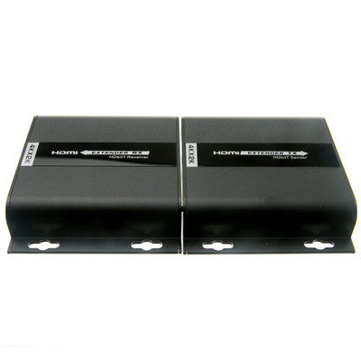 4K HDMI Extender, over Cat5e/6/Local Network with IR return, 120 meter / 390 foot max range - Part Number: 41V3-27100