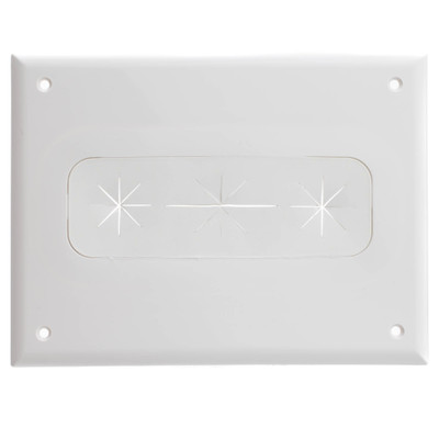 Recessed Media Box, White - Part Number: 45-0010-WH