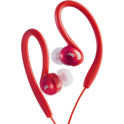 JVC Sport Clip Headphones, Red - Part Number: 5002-10202