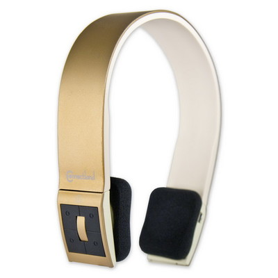 Bluetooth Wireless Headset with Microphone, Champagne, Bluetooth v2.1 + EDR, 10 meter/33 foot Range - Part Number: 5002-20100CH