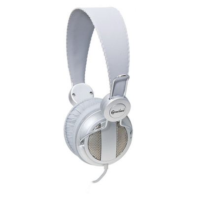 Lightweight Headset with Built-in Slim In-line Microphone, Silver, (iPhone, Smartphone and Computer) - Part Number: 5002-20300SL